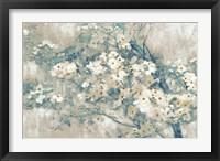 Framed Dogwood Bloom