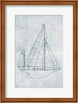 Framed Danielas Sailboat I