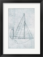 Framed Danielas Sailboat I