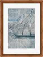 Framed Danielas Sailboat III