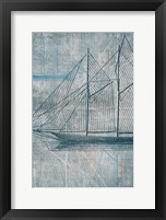 Framed Danielas Sailboat III