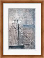 Framed Danielas Sailboat IV