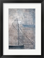 Framed Danielas Sailboat IV