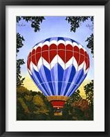 Framed Balloon Over Letchworth