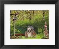 Framed Outhouse