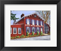 Framed Old Red Mill Inn
