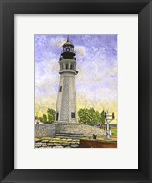 Framed Buffalo Lighthouse II