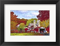 Framed Covered Bridge And Buggy, Lancaster Co, Pa