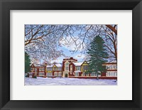 Framed Eden Central School, Eden, Ny