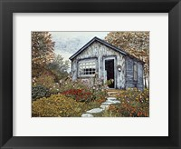 Framed Flower Shed I, Arlington Vt