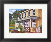 Framed Quilts Not By Bread Alone, Lancaster Pa