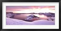Framed Crater Lake