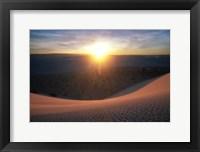Framed Curved Dune Spot Removed