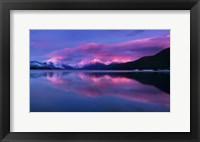 Framed Glacier McDonald