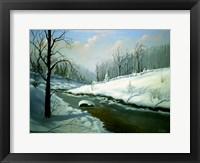 Framed Winter Landscape 4