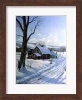 Framed Winter Landscape 7