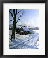 Framed Winter Landscape 7