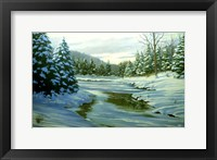 Framed Winter Landscape 14