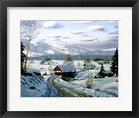 Framed Winter Landscape 15