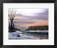 Framed Winter Landscape 19
