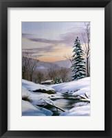 Framed Winter Landscape 36