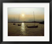 Framed Moored