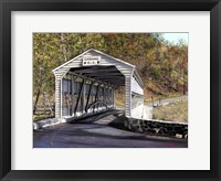 Framed Knox Bridge - Valley Forge Pa