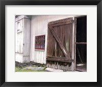 Framed Old Barn Door