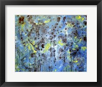 Framed Blue Forest