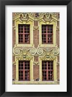 Framed Four French Windows
