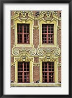 Framed Four French Windows