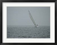 Framed Sailboat in Wind