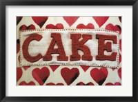 Framed Cake Label