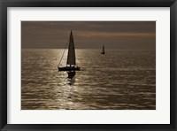 Framed Sailboats Copper