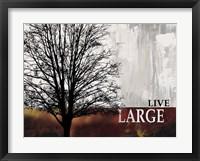 Framed Live Large