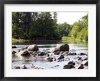 Framed Chippewa Summer II