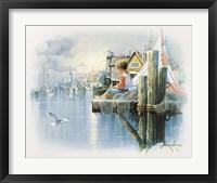 Framed Fishing Dock B