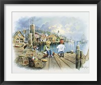 Framed Fishing Dock C