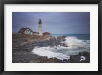 Framed Cape Elizabeth Storm
