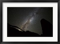 Framed Landscape Arch Milky Way