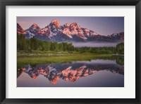 Framed Teton Awakening