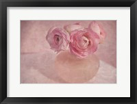 Framed Pink Ranunculus Bouquet