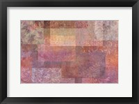 Framed Stylish Patterns Rosy Brown