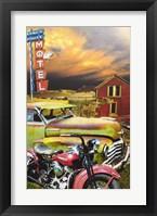 Framed Ranch House Motel