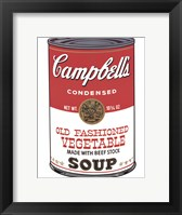 Framed Campbell's Soup (Ica)