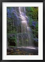 Framed Majestic Waterfall