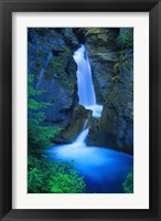 Framed Blue Waterfall