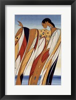 Framed Black Hills Woman