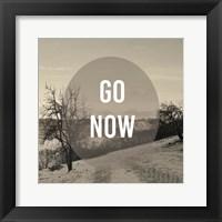 Foggy Mountain Motivation I Framed Print