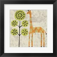 Ada's Giraffe Framed Print